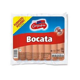 SALCHICHA BOCATA C/8PAQ 1K/PAQ 16U/PQ