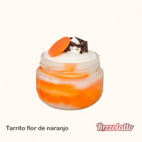 TARRITO HELADO FLOR NARANJO C/15U 140ML