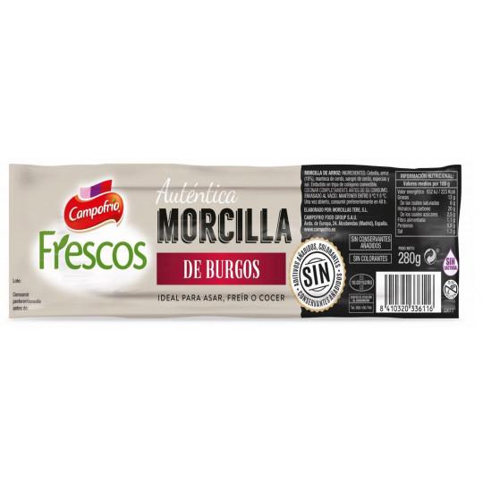 MORCILLA BURGOS COC. 280 GR C/8