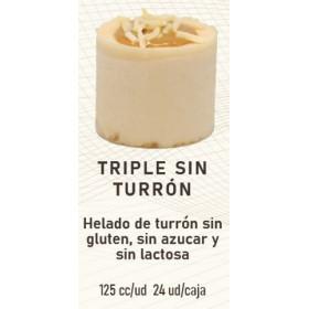 TRIPLE SIN HELADO TURRON C/24U 125ML
