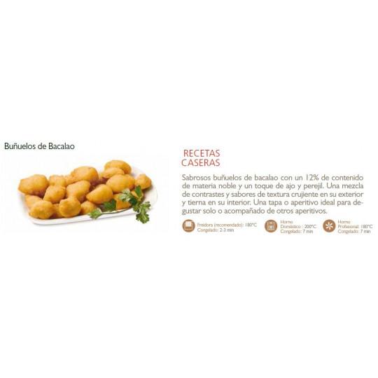BUÑUELOS DE BACALAO 10X400 PRIELA