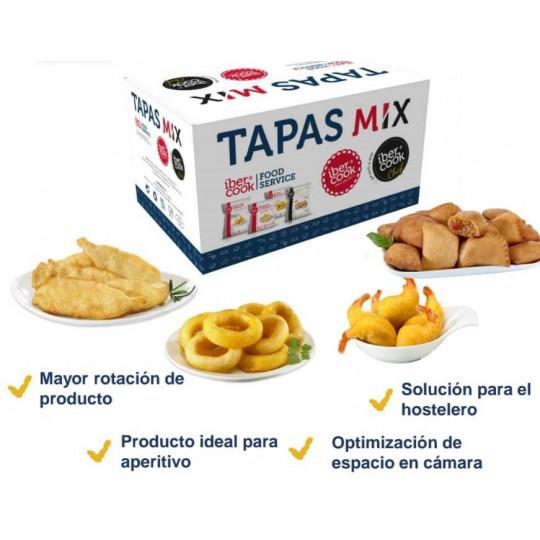 TAPAS MIX IBERCOOK C/4K