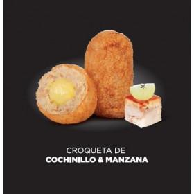CROQUETA COCHINILLO MANZANA...