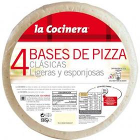 BASES PIZZA L.C. 8(4X130 GR)