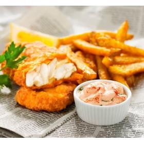 FISH'N CHIPS GOURMET 1X4...